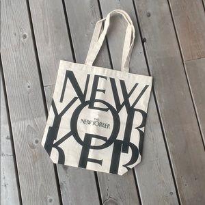 New Yorker bag